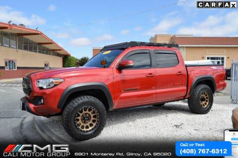 2017 Toyota Tacoma for sale at Cali Motor Group in Gilroy CA