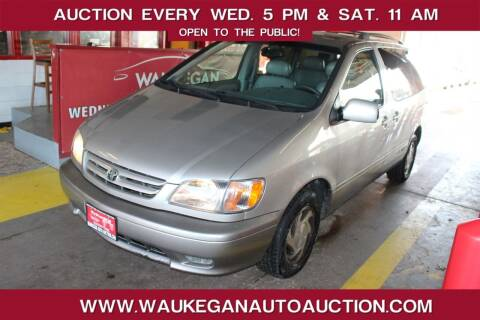 2002 Toyota Sienna for sale at Waukegan Auto Auction in Waukegan IL