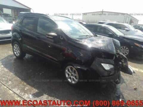 2020 Ford EcoSport for sale at East Coast Auto Source Inc. in Bedford VA