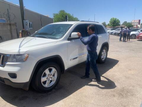 2011 Jeep Grand Cherokee for sale at Top Gun Auto Sales, LLC in Albuquerque NM