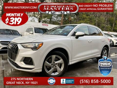 2020 Audi Q3 for sale at European Masters in Great Neck NY
