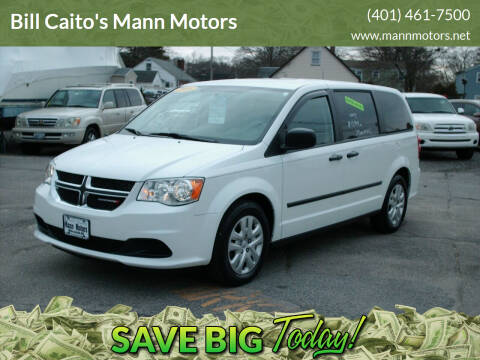 2016 Dodge Grand Caravan for sale at Bill Caito's Mann Motors in Warwick RI