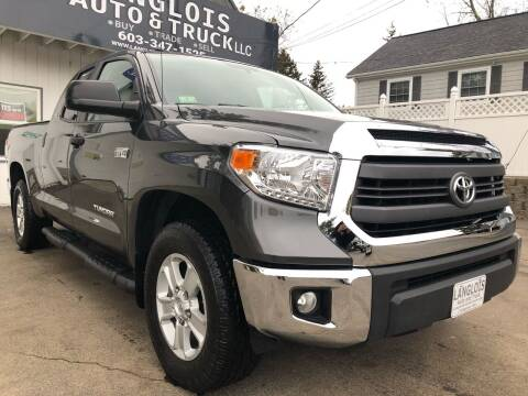 2014 Toyota Tundra for sale at Langlois Auto and Truck LLC in Kingston NH