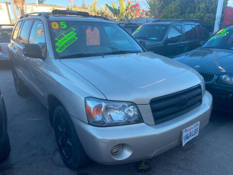 2005 Toyota Highlander for sale at North County Auto in Oceanside CA