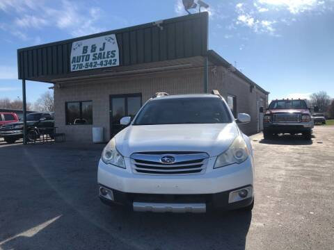2010 Subaru Outback for sale at B & J Auto Sales in Auburn KY
