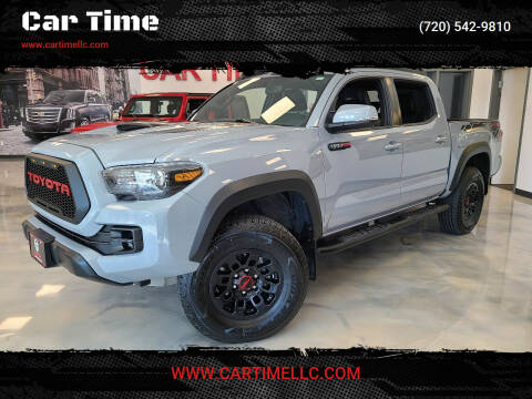 2017 Toyota Tacoma for sale at Car Time in Denver CO