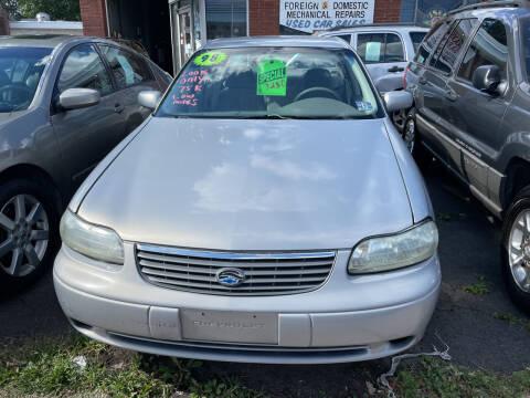 1998 Chevrolet Malibu for sale at Frank's Garage in Linden NJ