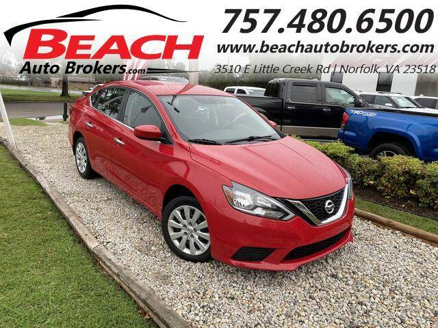2017 Nissan Sentra for sale at Beach Auto Brokers in Norfolk VA