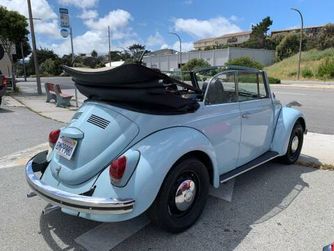 1969 Volkswagen Beetle Convertible for sale at Dodi Auto Sales in Monterey CA