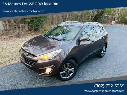 2014 Hyundai Tucson for sale at ES Motors-DAGSBORO location in Dagsboro DE