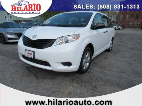 2013 Toyota Sienna for sale at Hilario's Auto Sales in Worcester MA
