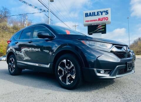 2017 Honda CR-V for sale at Bailey Brand in Clarksburg WV