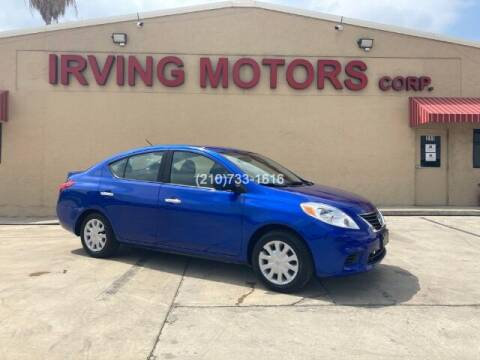 2013 Nissan Versa for sale at Irving Motors Corp in San Antonio TX