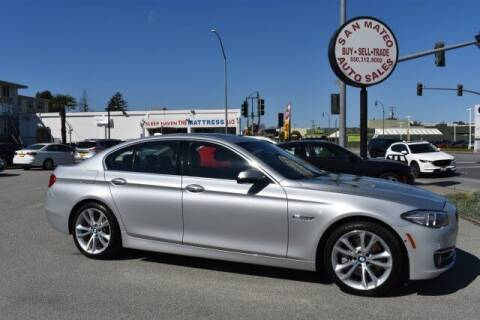 2015 BMW 5 Series for sale at San Mateo Auto Sales in San Mateo CA