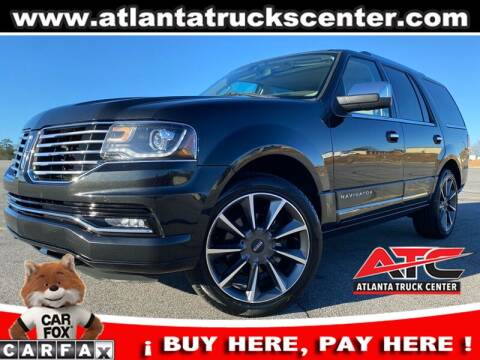 2015 Lincoln Navigator for sale at ATLANTA TRUCK CENTER LLC in Brookhaven GA