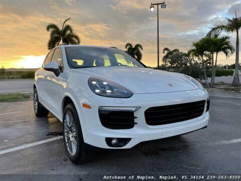 2017 Porsche Cayenne for sale at Autohaus of Naples in Naples FL