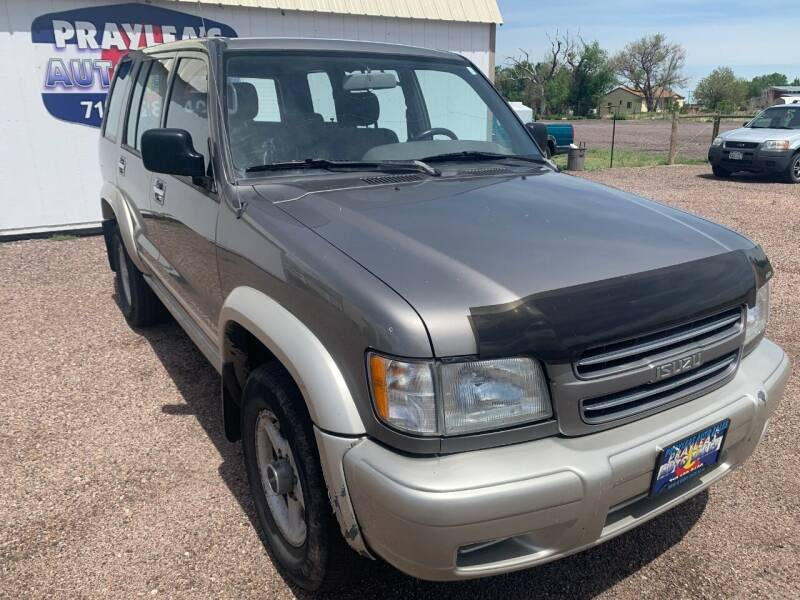 2000 Isuzu Trooper for sale at Praylea's Auto Sales in Peyton CO