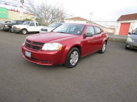 2010 Dodge Avenger for sale at ARISTA CAR COMPANY LLC in Portland OR
