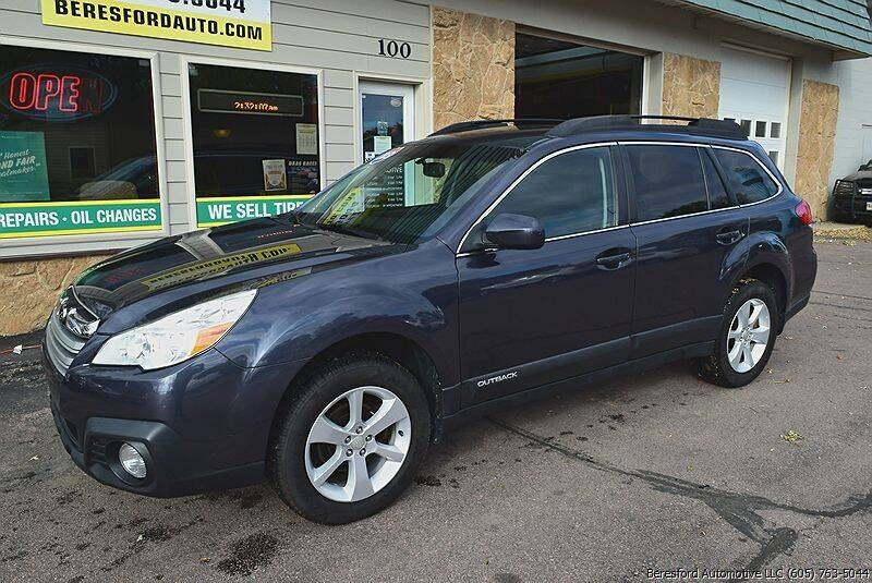 2013 Subaru Outback for sale at Beresford Automotive in Beresford SD