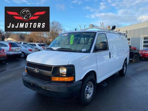 2008 Chevrolet Express Cargo for sale at J & J MOTORS in New Milford CT