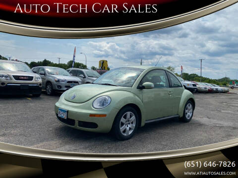 2007 Volkswagen New Beetle for sale at Auto Tech Car Sales in Saint Paul MN