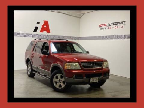 2002 Ford Explorer for sale at Royal AutoSport in Sacramento CA