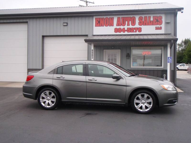 2013 Chrysler 200 for sale at ENON AUTO SALES in Enon OH