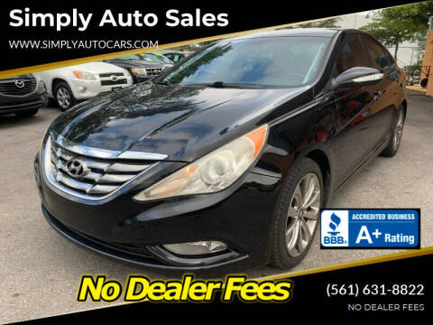 2011 Hyundai Sonata for sale at Simply Auto Sales in Palm Beach Gardens FL