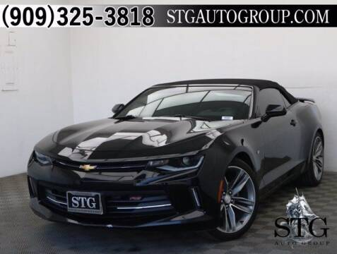 2018 Chevrolet Camaro for sale at STG Auto Group in Montclair CA