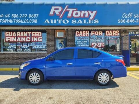 2015 Nissan Versa for sale at R Tony Auto Sales in Clinton Township MI