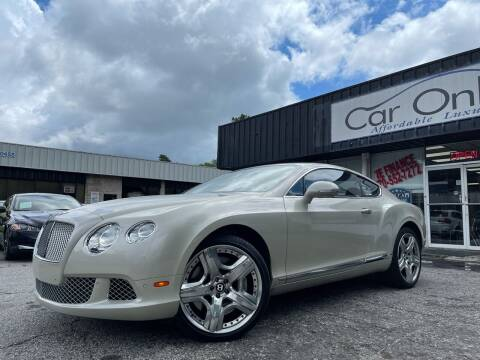 2012 Bentley Continental for sale at Car Online in Roswell GA