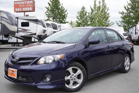2011 Toyota Corolla for sale at Frontier Auto & RV Sales in Anchorage AK