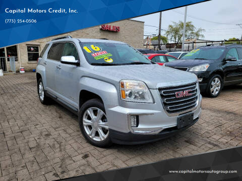 2016 GMC Terrain for sale at Capital Motors Credit, Inc. in Chicago IL