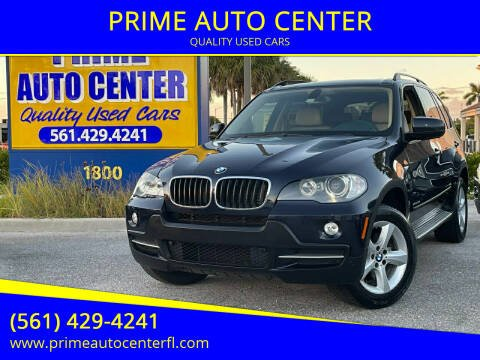 2010 BMW X5 for sale at PRIME AUTO CENTER in Palm Springs FL