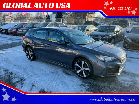 2017 Subaru Impreza for sale at GLOBAL AUTO USA in Saint Paul MN