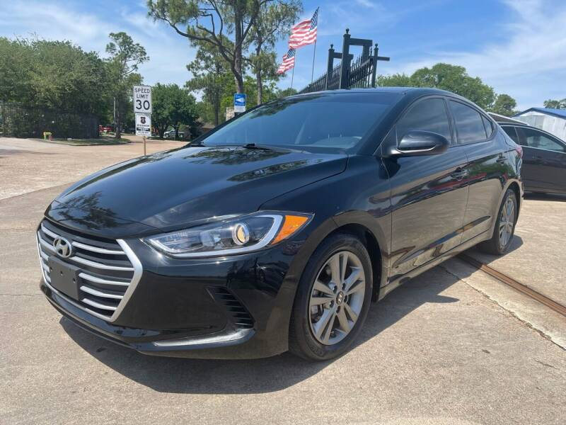 2018 Hyundai Elantra for sale at Newsed Auto in Houston TX