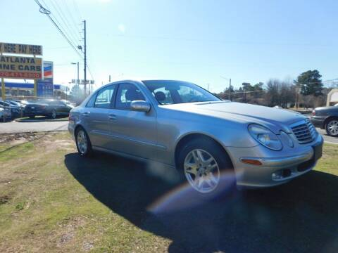 2005 Mercedes-Benz E-Class for sale at Atlanta Fine Cars in Jonesboro GA