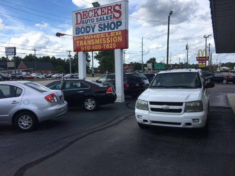 2008 Chevrolet TrailBlazer for sale at Deckers Auto Sales Inc in Fayetteville NC