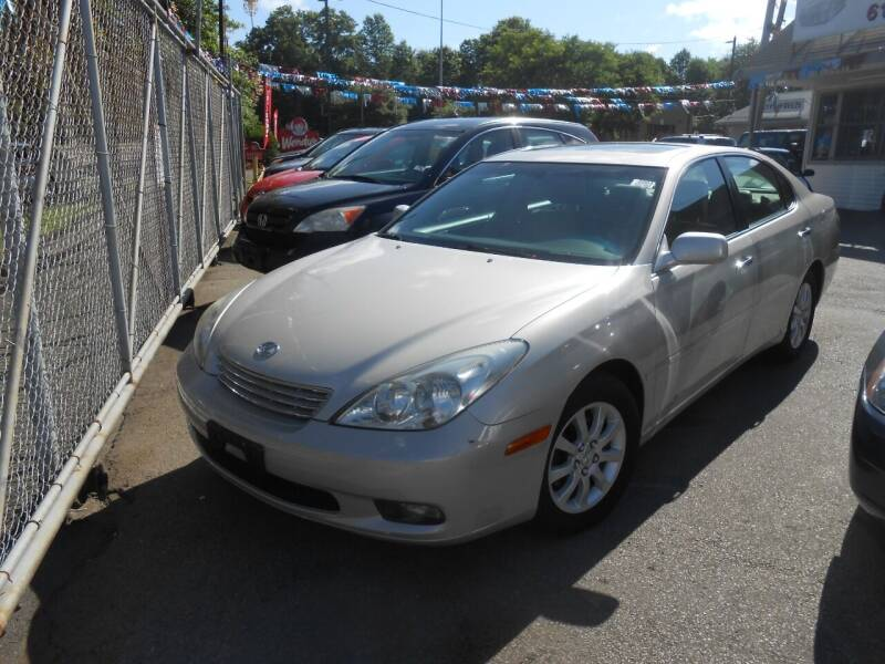 2004 Lexus ES 330 for sale at N H AUTO WHOLESALERS in Roslindale MA