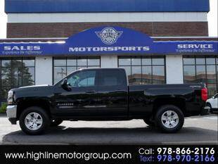 2016 Chevrolet Silverado 1500 for sale at Highline Group Motorsports in Lowell MA