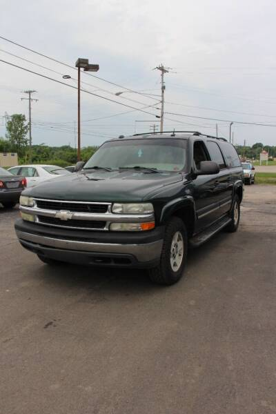 2004 Chevrolet Suburban for sale at RIDE NOW AUTO SALES INC in Medina OH