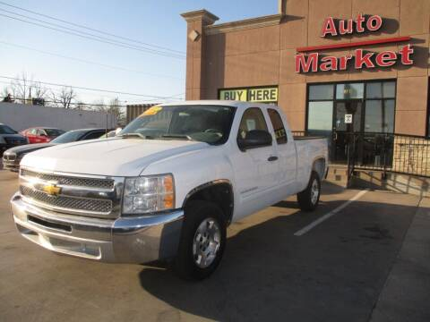 2012 Chevrolet Silverado 1500 for sale at Auto Market in Oklahoma City OK