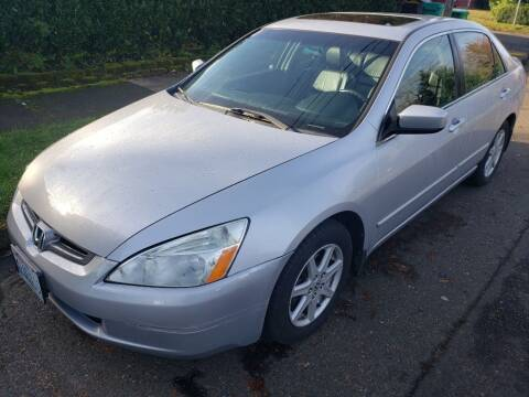 2004 Honda Accord for sale at KC Cars Inc. in Portland OR