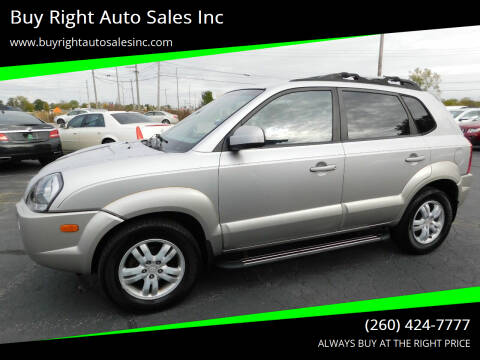 2006 Hyundai Tucson for sale at Buy Right Auto Sales Inc in Fort Wayne IN