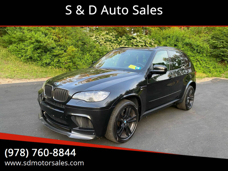 2011 BMW X5 M for sale at S & D Auto Sales in Maynard MA