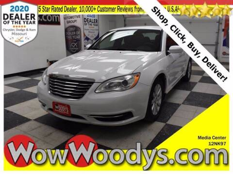 2012 Chrysler 200 for sale at WOODY'S AUTOMOTIVE GROUP in Chillicothe MO