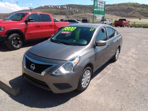 2017 Nissan Versa for sale at Hilltop Motors in Globe AZ