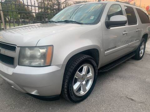 2007 Chevrolet Suburban for sale at FAIR DEAL AUTO SALES INC in Houston TX