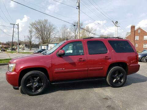 2007 Chevrolet Tahoe for sale at COLONIAL AUTO SALES in North Lima OH