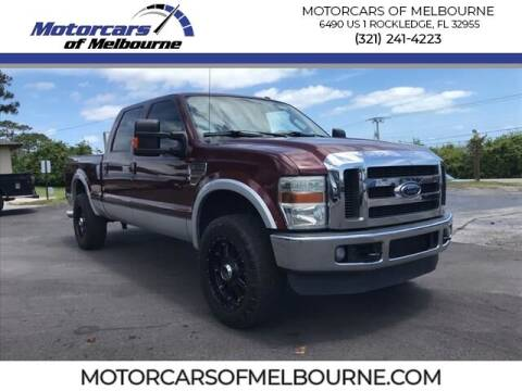 2010 Ford F-250 Super Duty for sale at Motorcars of Melbourne in Rockledge FL